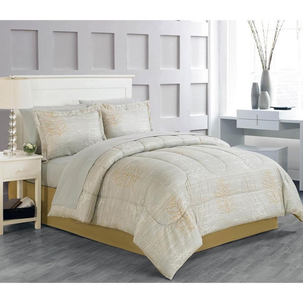 Beila 8-piece Bed in a Bag with Sheet Set