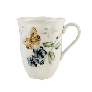 Lenox Butterfly Meadow Orange Sulphur 12-ounce Mug