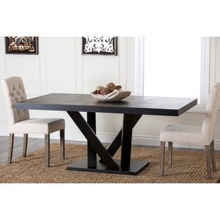 Abbyson Cosmo Espresso Wood Dining Table