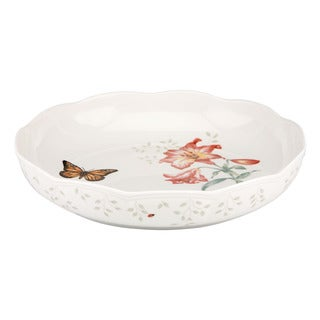 Lenox Butterfly Meadow Low 10.75-inch Serving Bowl