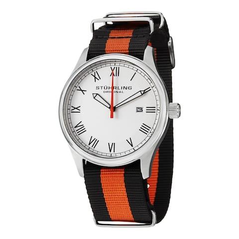 Stuhrling Original Men's Liberty Quartz Strap Strap Watch
