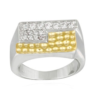 Icz Stonez Two-tone Cubic Zirconia Men's Ring|https://ak1.ostkcdn.com/images/products/8504404/Icz-Stonez-Two-tone-Cubic-Zirconia-Mens-Ring-P15789385.jpg?_ostk_perf_=percv&impolicy=medium