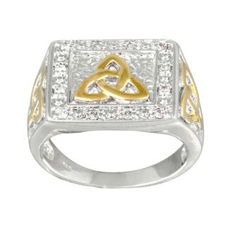 Icz Stonez Two-tone Cubic Zirconia Men's Ring|https://ak1.ostkcdn.com/images/products/8504405/Icz-Stonez-Two-tone-Cubic-Zirconia-Mens-Ring-P15789386.jpg?impolicy=medium