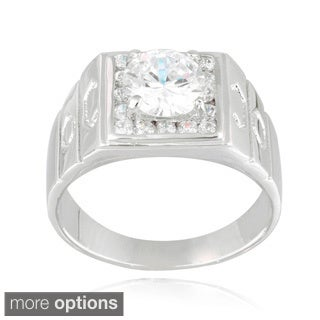 Icz Stonez Cubic Zirconia Men's Ring