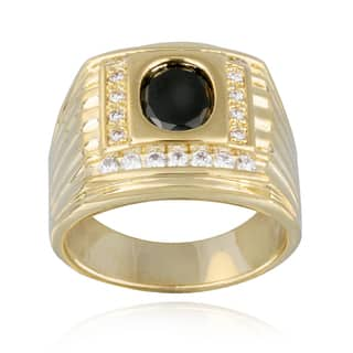 Icz Stonez Cubic Zirconia Men's Ring|https://ak1.ostkcdn.com/images/products/8504409/Icz-Stonez-Cubic-Zirconia-Mens-Ring-P15789390.jpg?impolicy=medium