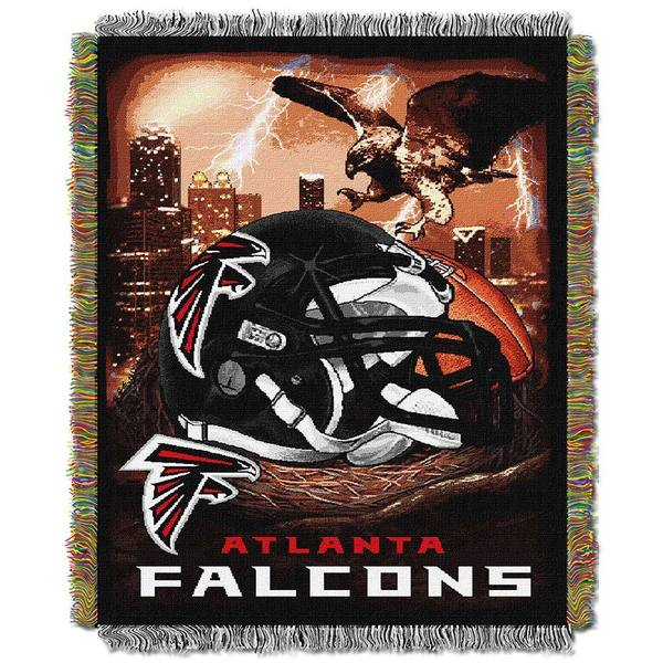 NFL Atlanta Falcons Woven Tapestry Throw