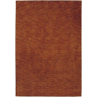 Couristan Mystique Aura Rustic Clay Wool Area Rug - 3'5 x 5'5