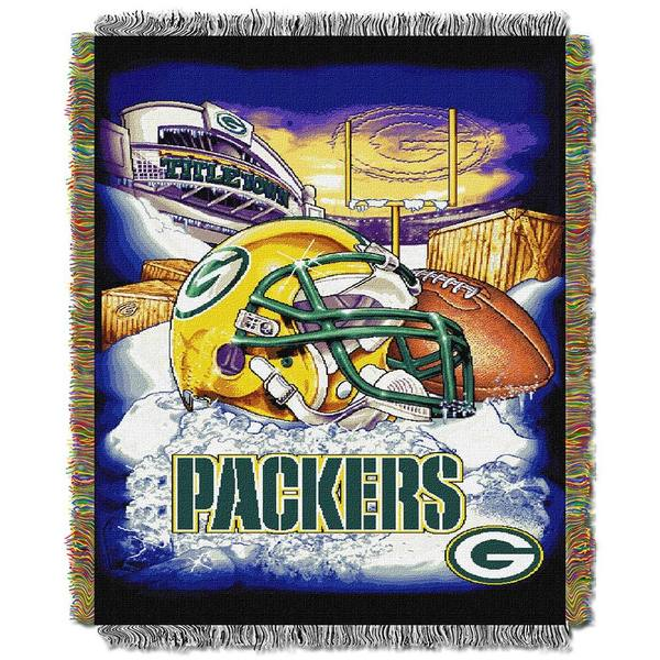 NFL Green Bay Packers Woven Tapestry Throw