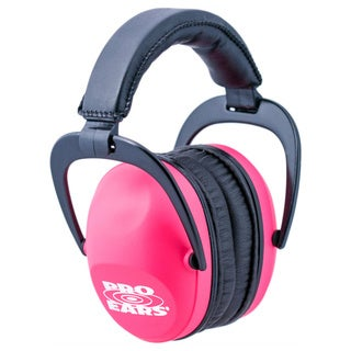 Pro Ears Ultra Sleek Pink Camo Ear Muffs