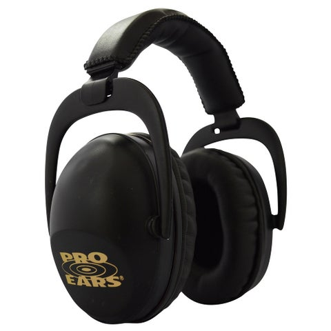 Pro Ears NRR 26 Ultra Sleek Black Hearing Protection Ear Muffs