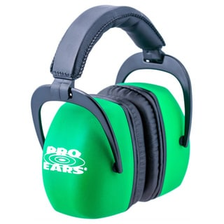 Pro Ears NRR30 Ultra Pro Neon Green Hearing Protection Shooting Range Ear Muffs