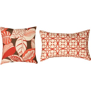 Tuscan/Terre Santa Fe Polyester Decorative Throw Pillows (Set of 2)