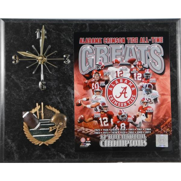 Alabama Crimson Tide 'All Time Greats' Clock