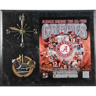 Alabama Crimson Tide 'All Time Greats' Clock