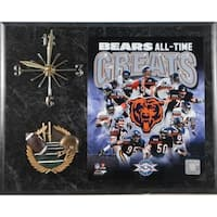 Chicago Bears 'All Time Greats' Clock