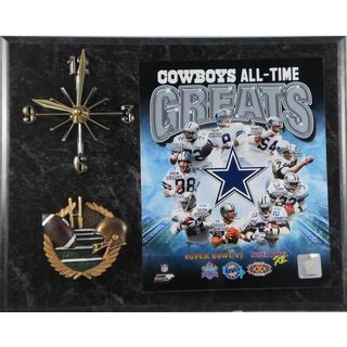 Dallas Cowboys 'All Time Greats' Clock