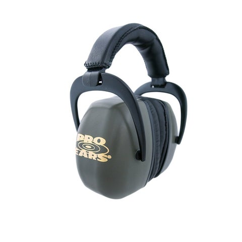 Pro Ears NRR 30 Ultra Pro Green Hearing Protection Shooting Range Ear Muffs