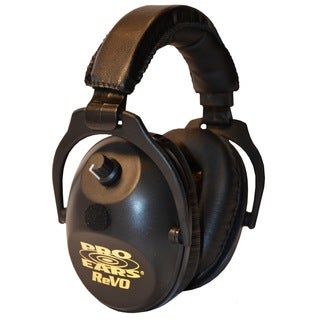 Pro Ears NRR 25 ReVO Black Electronic Hearing Protection and Amplification Youth and Women Ear Muffs