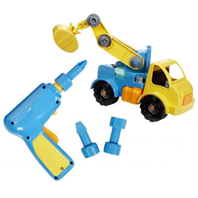 Battat Take-A-Part Crane (Toy crane), Black