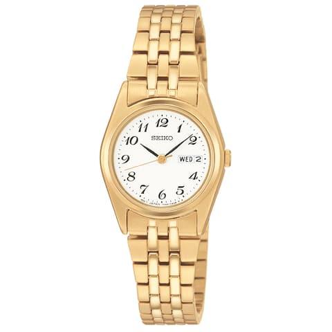 Seiko Women's Functional Goldtone Watch