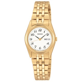 Seiko Women's Functional Goldtone Watch