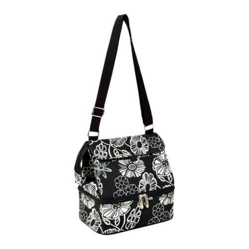 Picnic at Ascot Lunch Cooler Night Bloom (One Size), Blac...