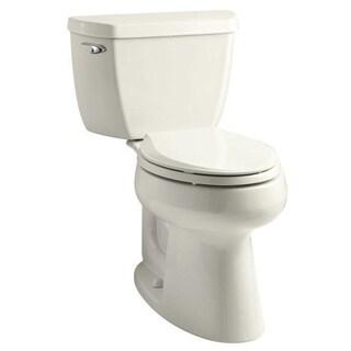 Kohler K-3658 Highline Classic Comfort Height 2-piece Elongated 1.28 GPF Toilet