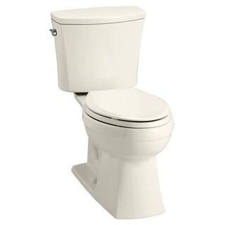 Kohler K-3754 Kelston Comfort Height 2-Piece Elongated 1.6 GPF Toilet
