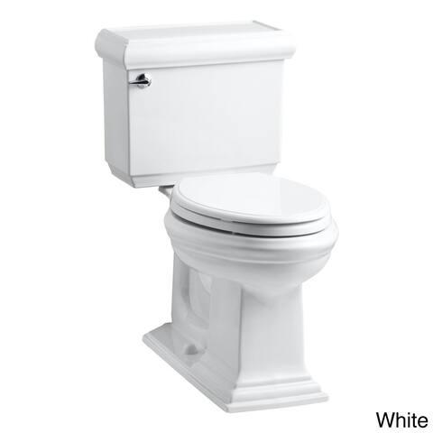 Kohler K-3816 Memoirs Classic Comfort Height 2-piece Elongated 1.28 GPF Toilet