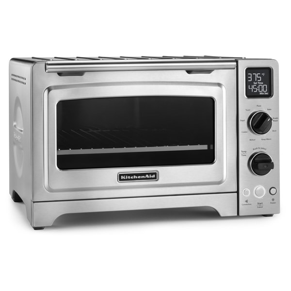 Convection Countertop Oven Stainless Steel : ... KCO273SS Stainless Steel 12-inch Digital Convection Countertop Oven