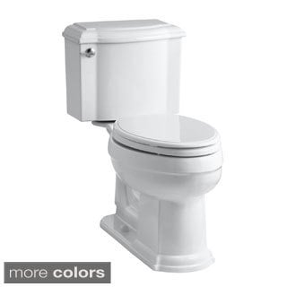 Kohler K-3837 Devonshire Comfort Height 2-piece Elongated 1.28 GPF Toilet