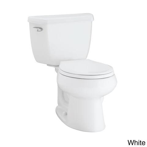 Kohler K-3577 Wellworth Classic 2-piece Round Front 1.28 GPF Toilet