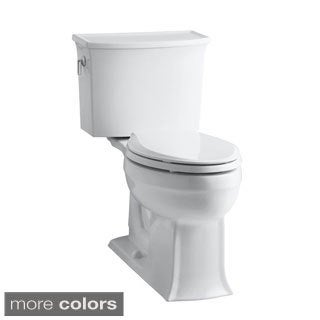 Kohler K-3551 Archer Comfort Height 2-piece Elongated 1.28 GPF Toilet with Class Five Flush Technology