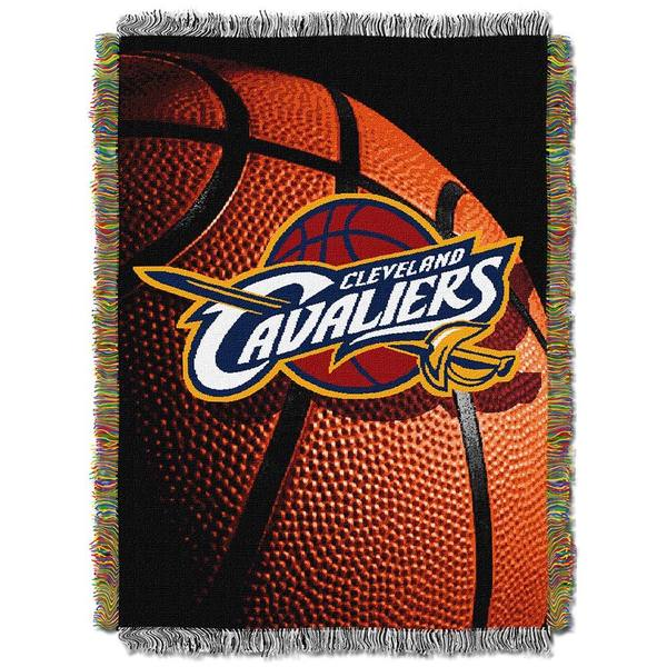 NBA Cleveland Cavaliers Woven Tapestry Throw