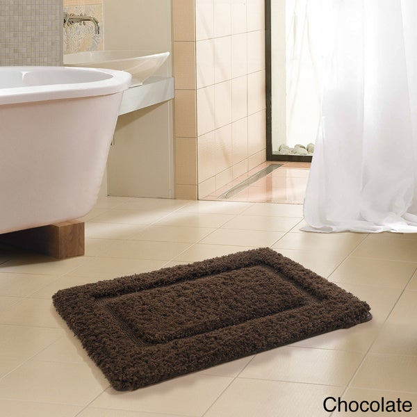 VCNY FreePort Microfiber High Pile Memory Foam 20 x 30 Bath Mat