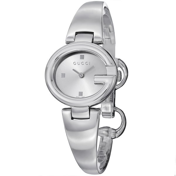 ac22702edfd Shop Gucci Women s YA134502  Guccisima  Silver Dial Stainless Steel ...