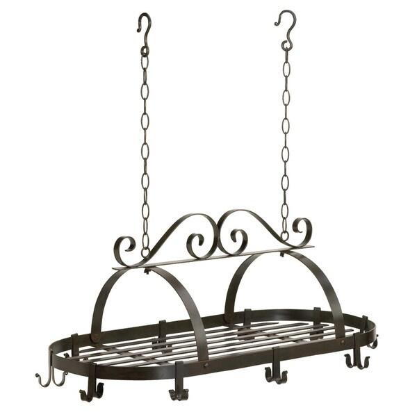 Black Hanging Cookware Holder
