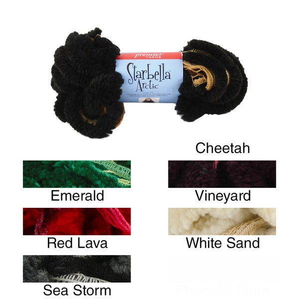 Starbella Ruffled Arctic Yarn