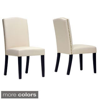 Baxton Studio Trullinger Modern Dining Chairs (Set of 2)