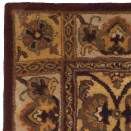 Safavieh Handmade Classic Bakhtieri Multicolored Wool Rug (3'x5') - Thumbnail 2