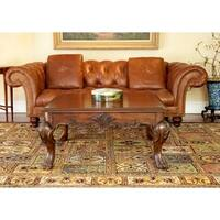 Safavieh Handmade Classic Bakhtieri Multicolored Wool Rug - 4' x 6'