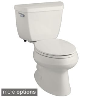 Kohler K-3575 'Wellworth' Classic Two-piece Elongated 1.28-GPF Toilet
