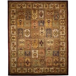 Safavieh Handmade Classic Bakhtieri Multicolored Wool Rug (7'6 x 9'6)