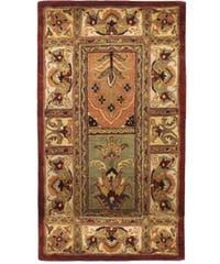 "Safavieh Handmade Classic Bakhtieri Multicolored Wool Rug - 2'3"" x 4'"