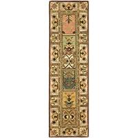 "Safavieh Handmade Classic Bakhtieri Multicolored Wool Rug - 2'3"" x 8'"