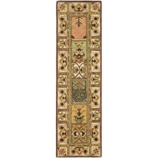 Safavieh Handmade Classic Bakhtieri Multicolored Wool Rug (2'3 x 8')