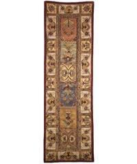 Safavieh Handmade Classic Bakhtieri Multicolored Wool Rug - 2'3 x 10'