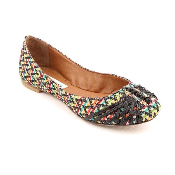 Steve Madden Women's 'Karmma' Striped Basic Textile Casual Shoes