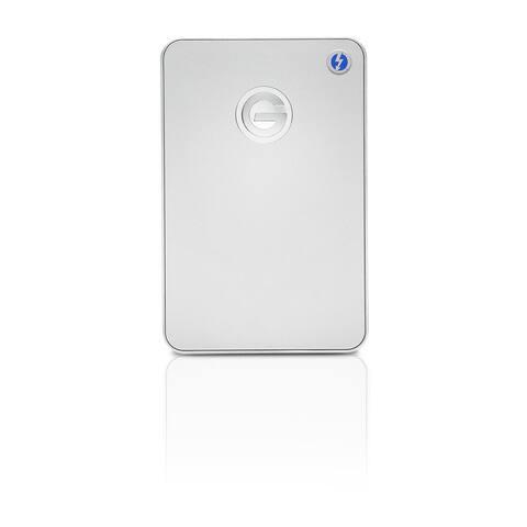HGST G-DRIVE mobile GDMOTHPA10001BDB 1 TB Hard Drive - External - Portable - Silver