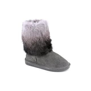 Bearpaw Women's 'Keely' Grey Regular Suede Boots